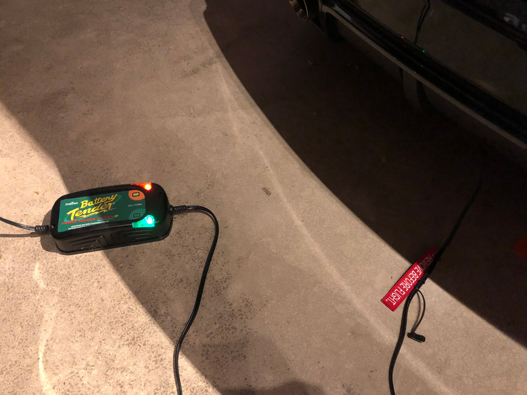2010-2015 5th Gen Camaro Quick Access Battery Charger Connection