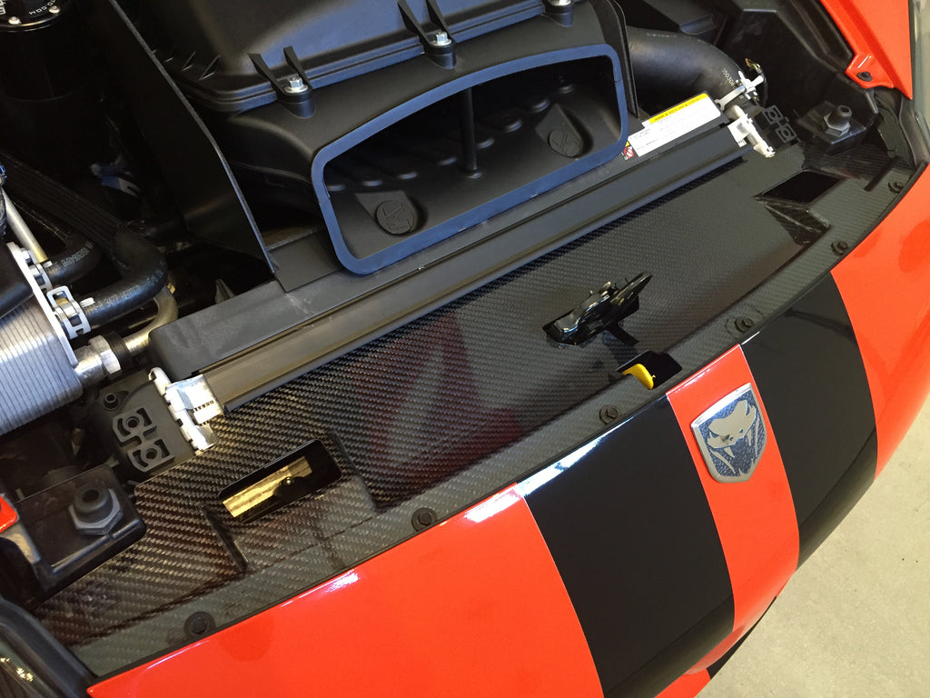 2003-2010 Gen III-IV Carbon Fiber Radiator Closeout Panel