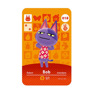 Animal Crossing Amiibo Card