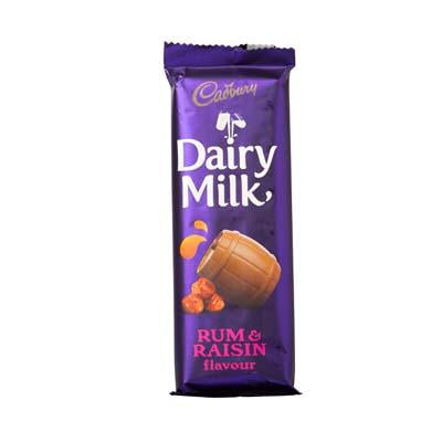 Cadbury Dairy Milk Rum & Raisin Slab