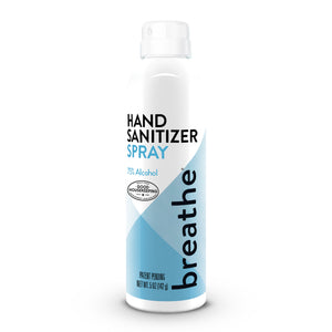 Load image into Gallery viewer, breathe 5 oz hand sanitizer spray