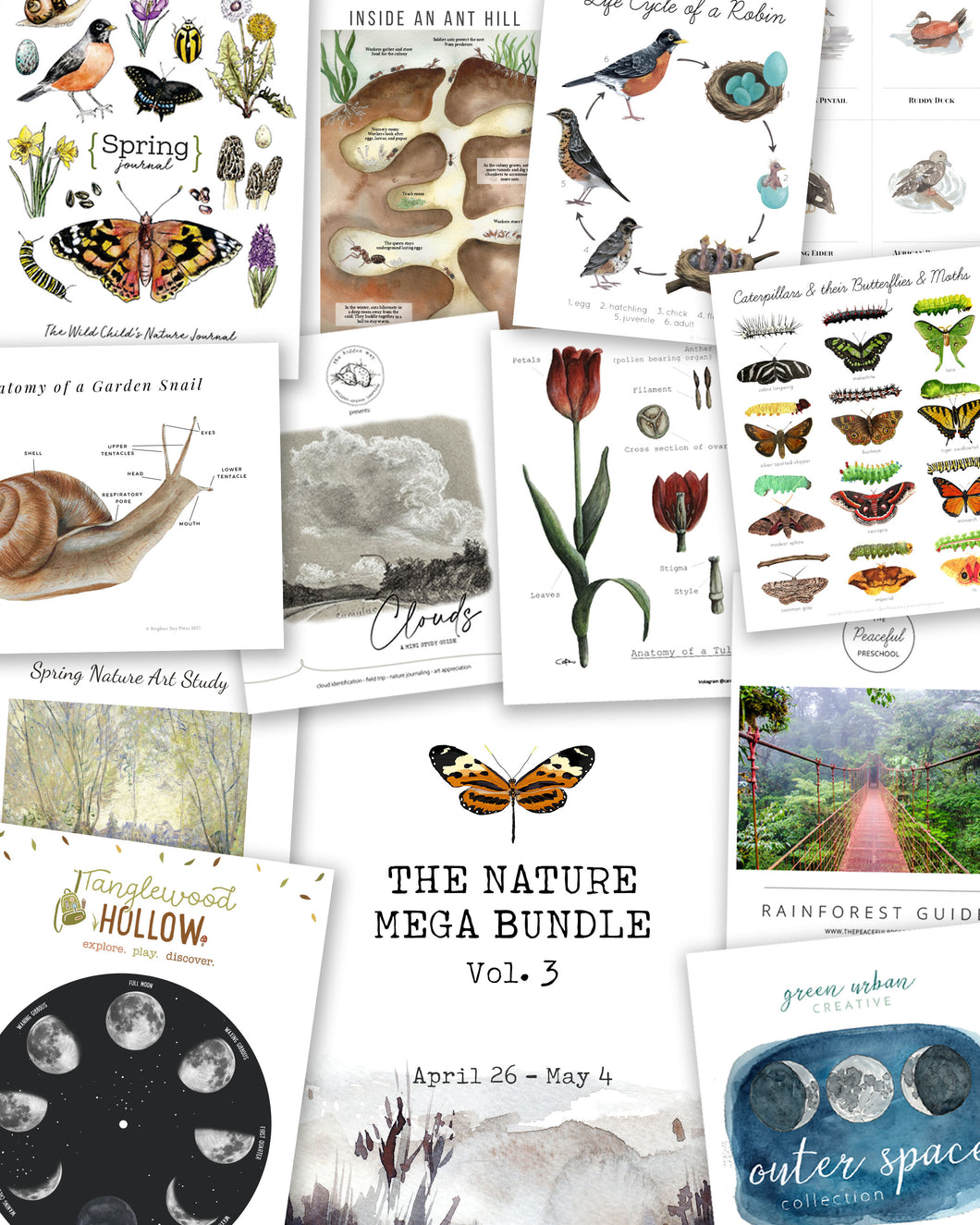 THE NATURE MEGA BUNDLE - VOL. 3