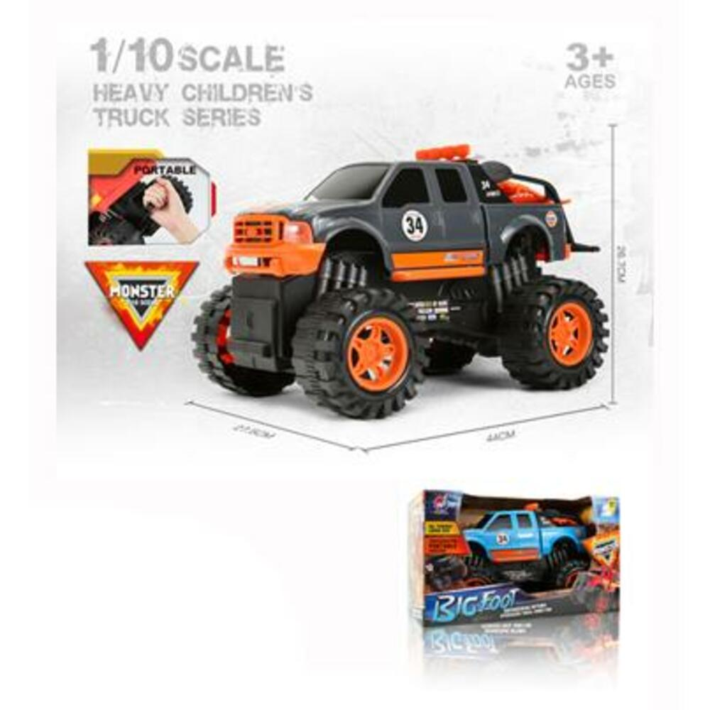JTE CARRO FRICCION BIG WHEELS PICKUP 1:10