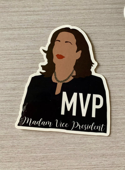 Kamala Harris Madam Vice President Sticker
