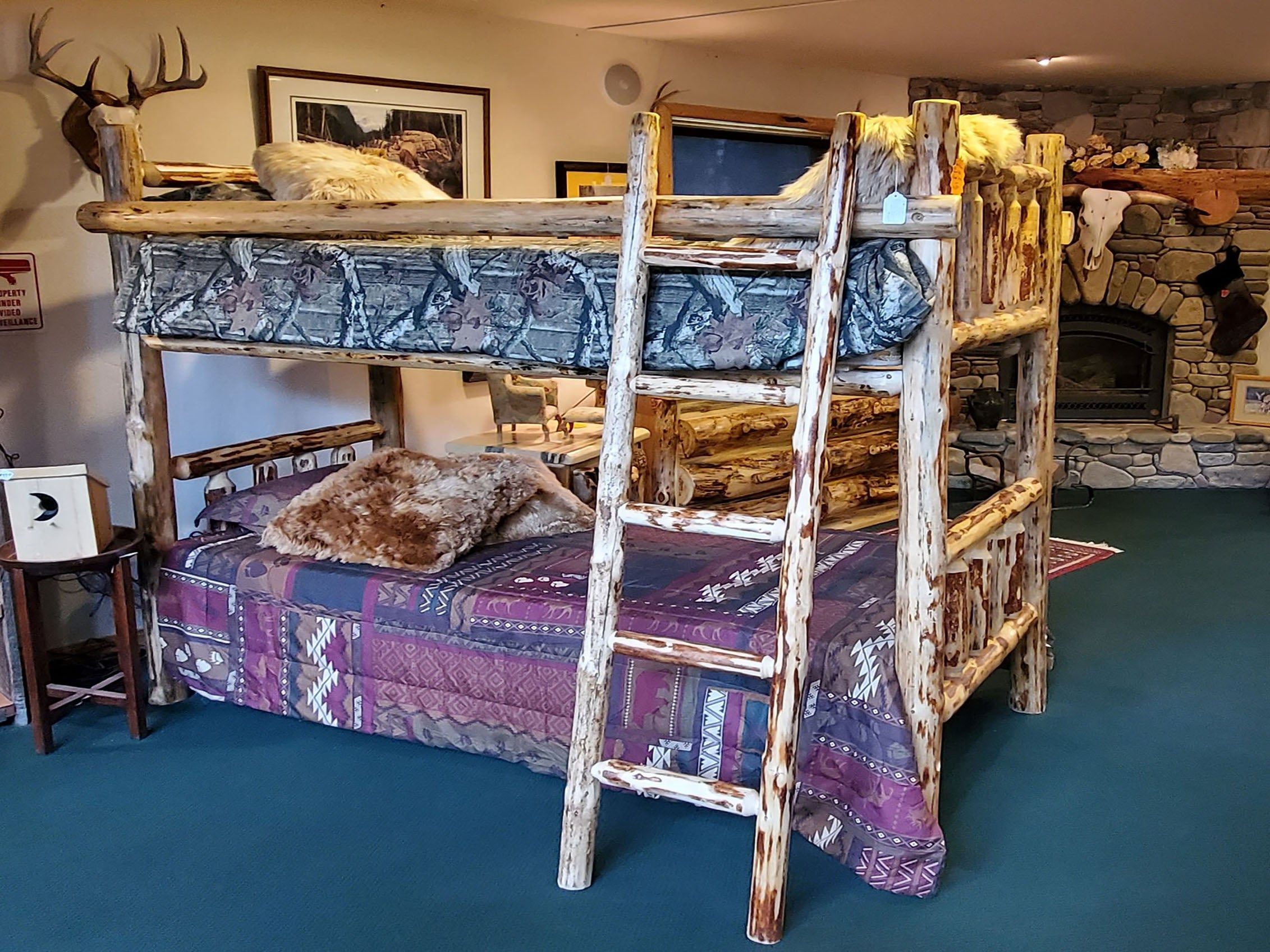 Picture of: Log Bunk Beds Tagged Twin Xl Great Northern Logworks