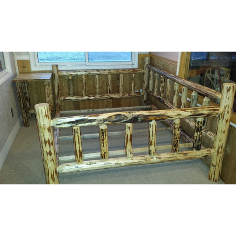 Montana Pioneer Rustic Log Daybed