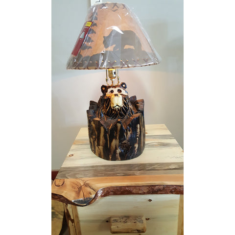 """Stump"" Bear Lamp -FREE SHIPPING!"