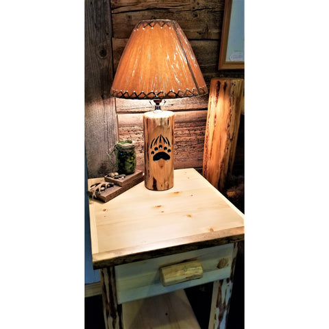 Bear Paw Lamp (No Shade)