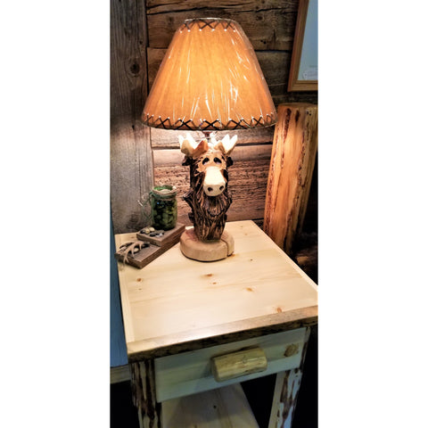 "Moose ""Standing"" Lamp (No Shade)"