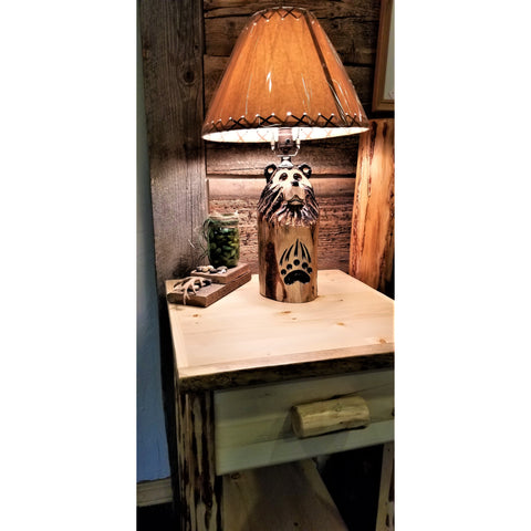 Bear Post Lamp -FREE SHIPPING!