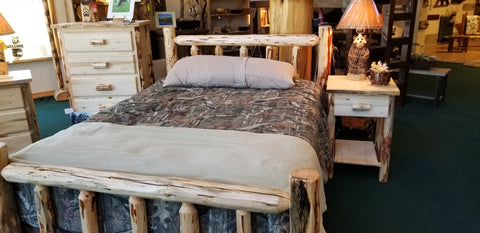 Frontier Trail Log Bed