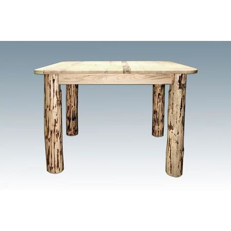 Montana Lodge 4-Post Dining Table with 2 Leaves