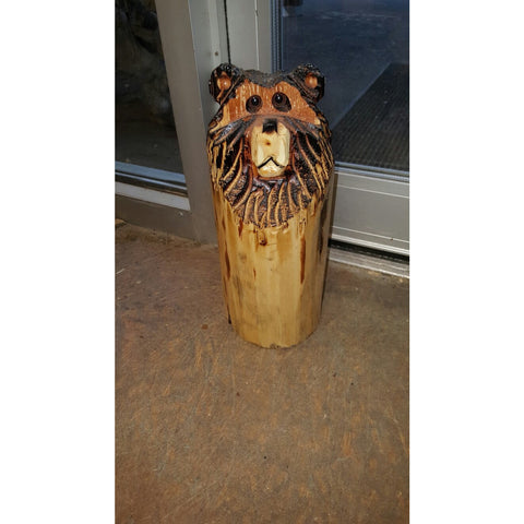 3D Bear Chainsaw Carving Door Stop -FREE SHIPPING