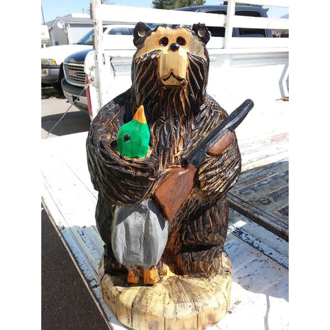 "20"" Duck hunter bear FREE SHIPPING!"