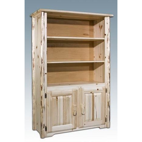 Montana Lodge Bookcase with Storage