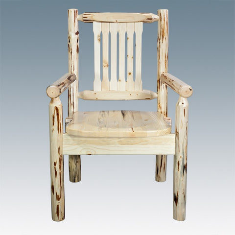 Montana Lodge Captain's Dining Chair