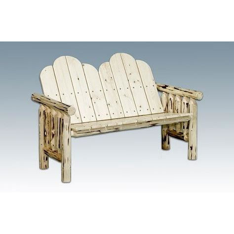 Montana Lodge Deck Bench
