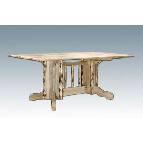 Montana Lodge Double Pedestal Dining Table