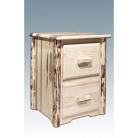 Wonderful Montana Lodge 2 Drawer File Cabinet