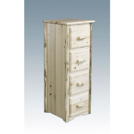 Montana Lodge 4-Drawer File Cabinet