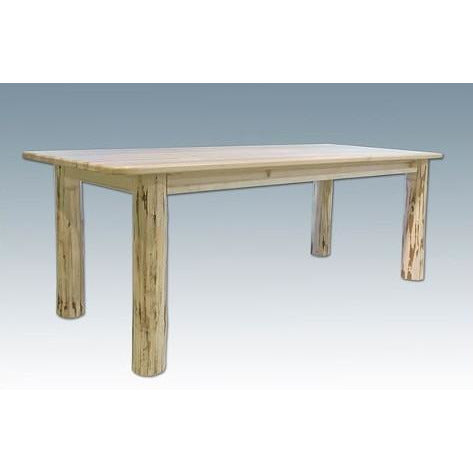 Montana Lodge 4-Post Dining Table