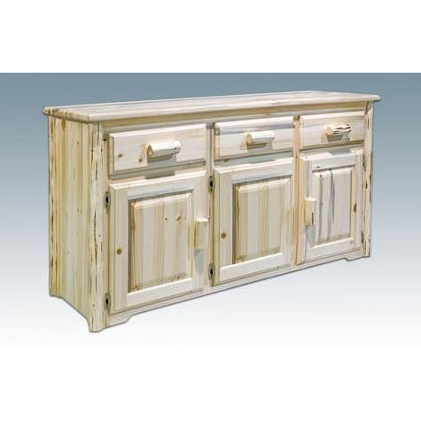 montana lodge sideboard great northern logworks. Black Bedroom Furniture Sets. Home Design Ideas