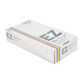 Wide pre cut flatpack box of 500 aluminium foils