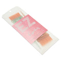 Feather Bristle Glitter Tint Brush 2pk