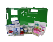 Load image into Gallery viewer, 6-15 Person First Aid Kits and Cabinets