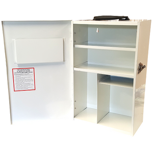 Empty Wall Mountable Portrait First Aid Cabinets
