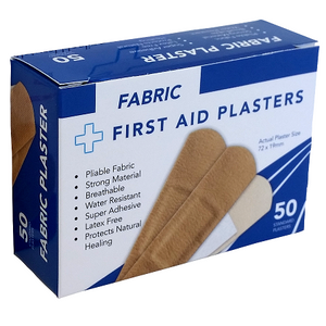 Fabric Plasters 50's Boxed 72mm x 19mm