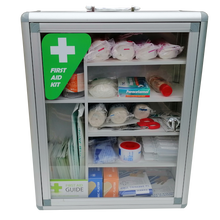 Load image into Gallery viewer, Clear Window First Aid Cabinets