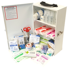 Load image into Gallery viewer, 16-25 Person First Aid Kits and Cabinets