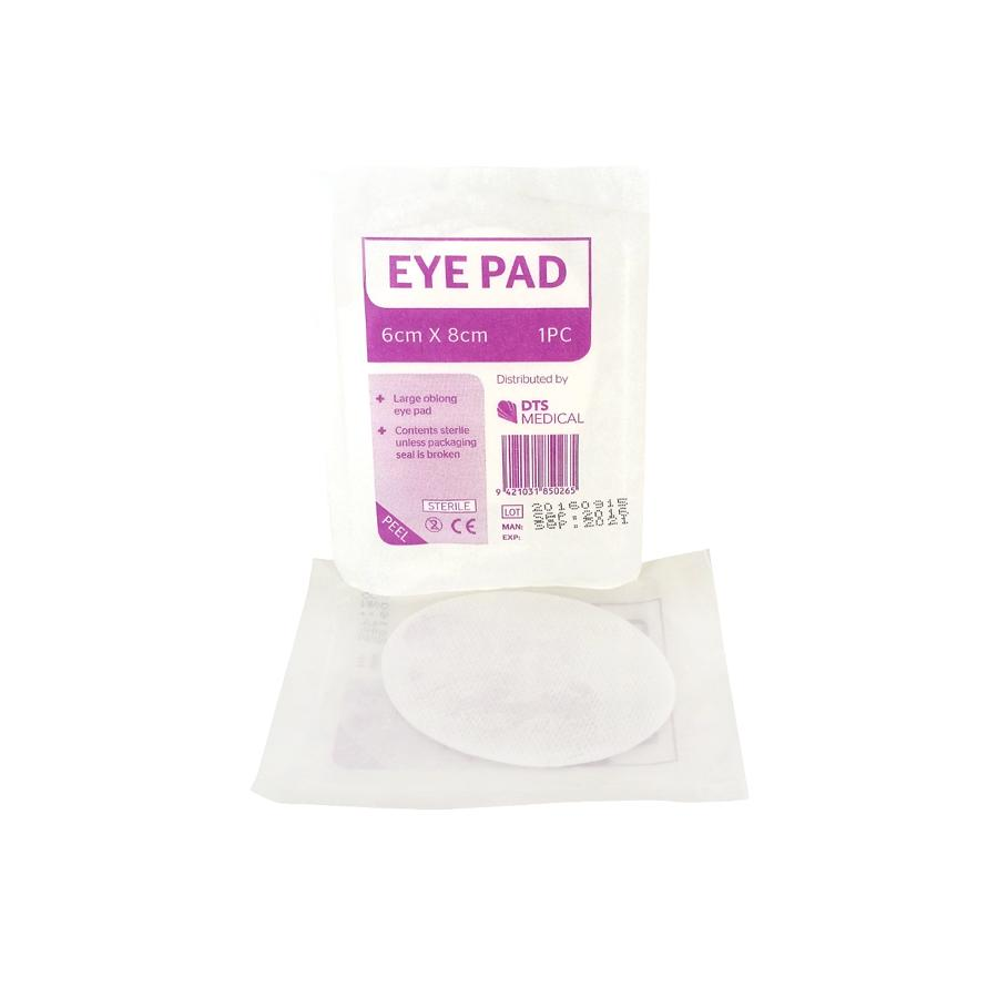 Eye Pad Single Large Single - Schiel Safety NZ