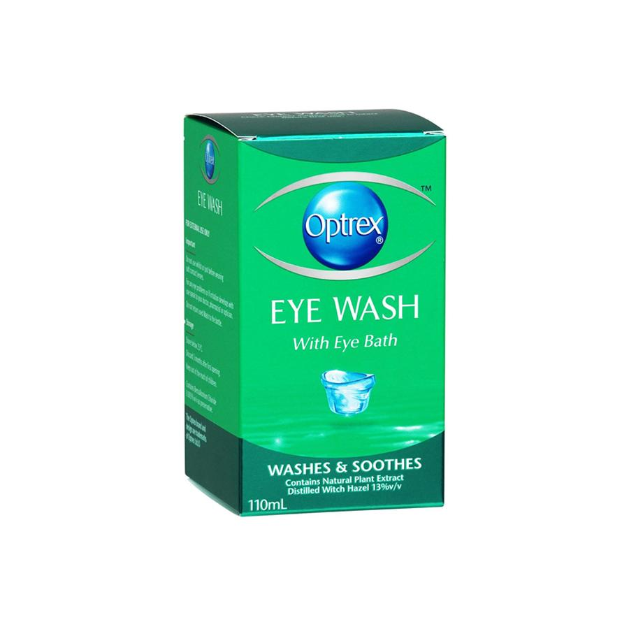 Schiel-Safety-First-Aid-Supplies-Optrex-Eye-Lotion-with-eye-bath-110ml