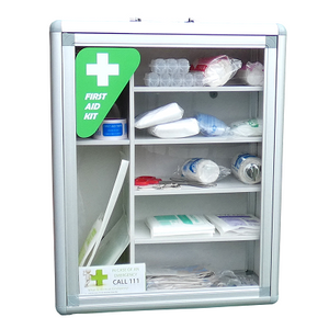 Clear Window First Aid Cabinets