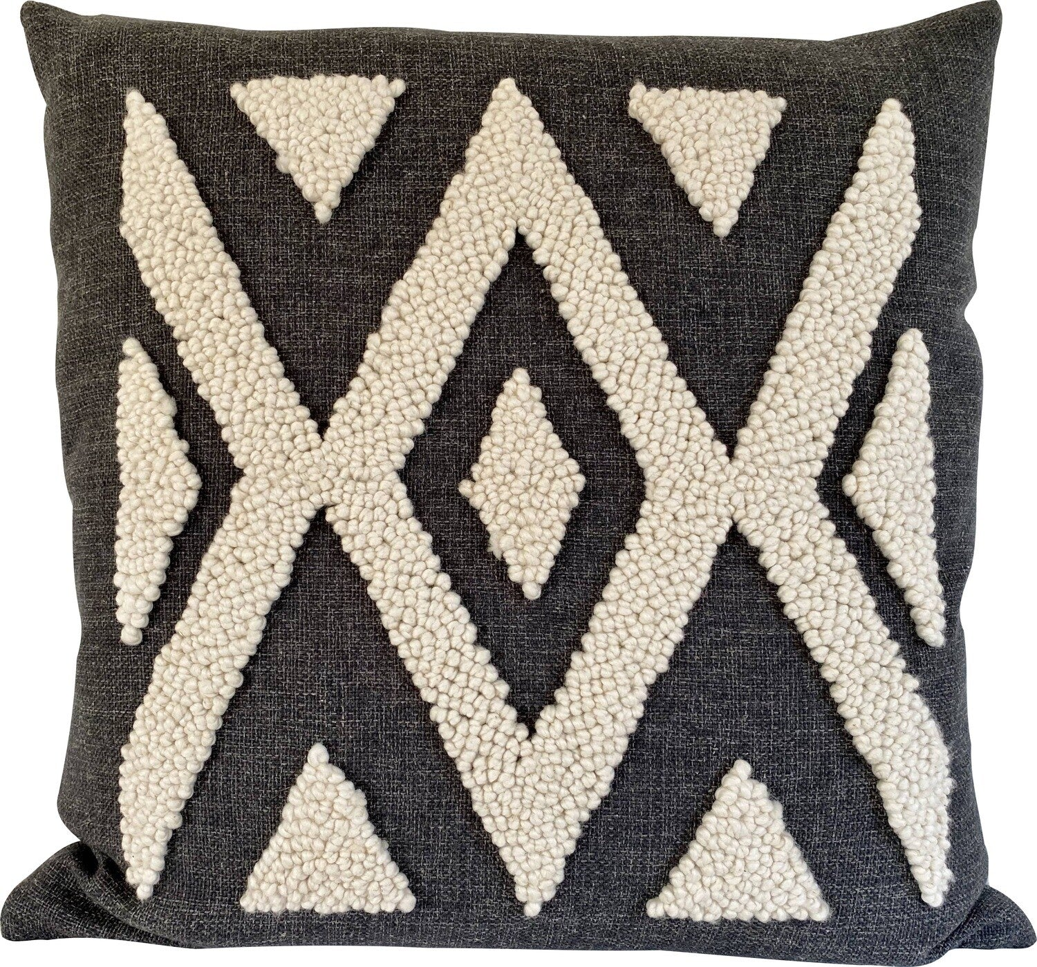Punch Needle Cushion - Ndebele Pattern 2