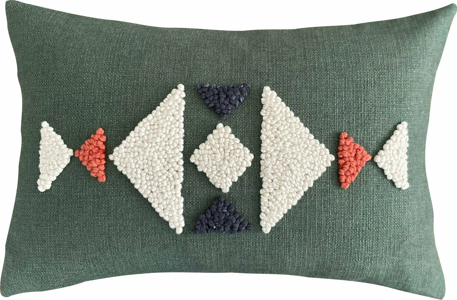 Punch Needle Cushion - AfriScandi Pattern 2 (60cmx40cm)