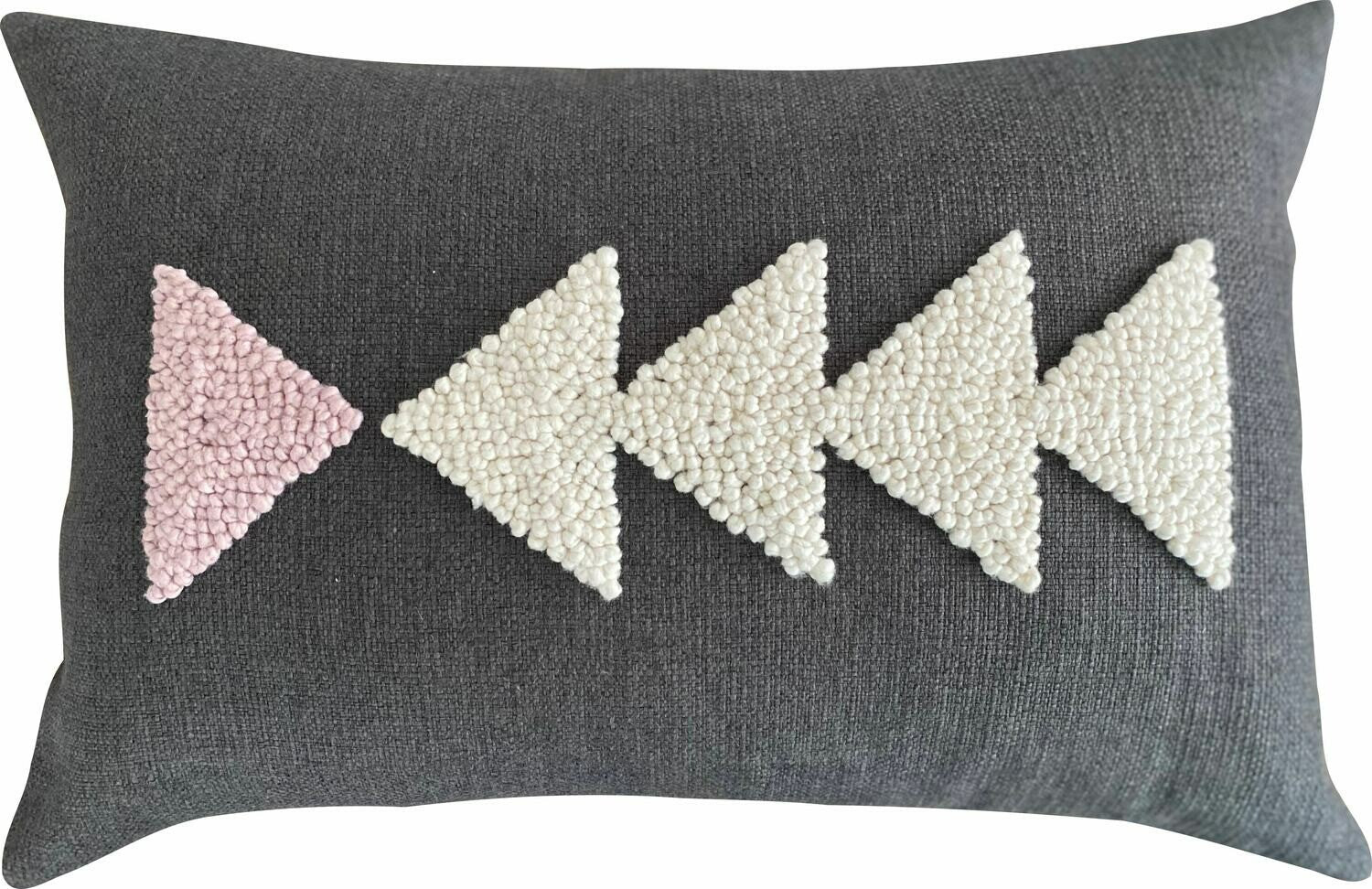 Punch Needle Cushion - AfriScandi Pattern 6