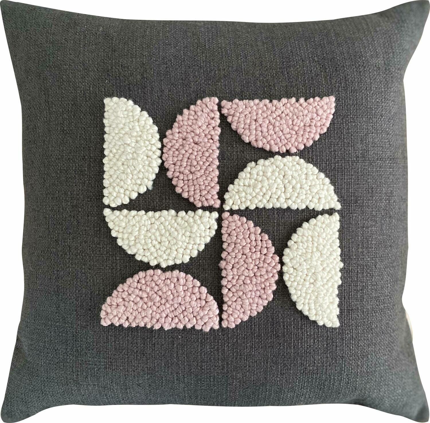 Punch Needle Cushion - AfriScandi Pattern 5