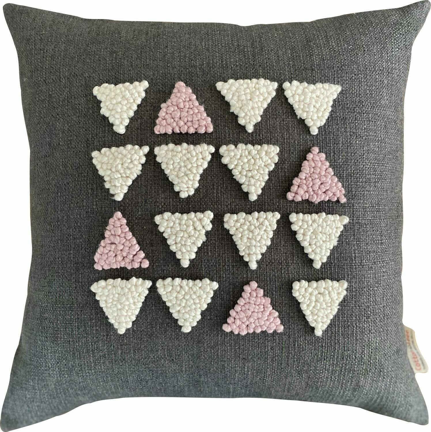 Punch Needle Cushion - AfriScandi Pattern 7