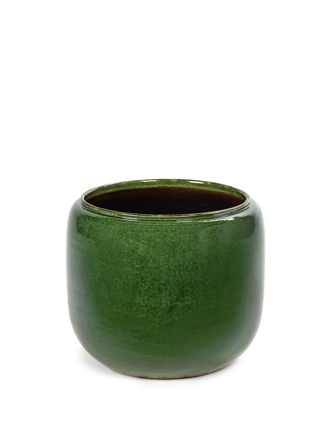 Costa Pot - Green Glazed