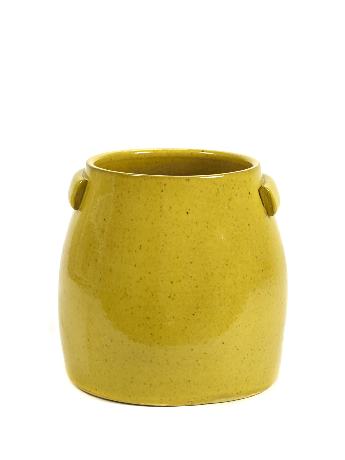 Yellow Tabor Pot