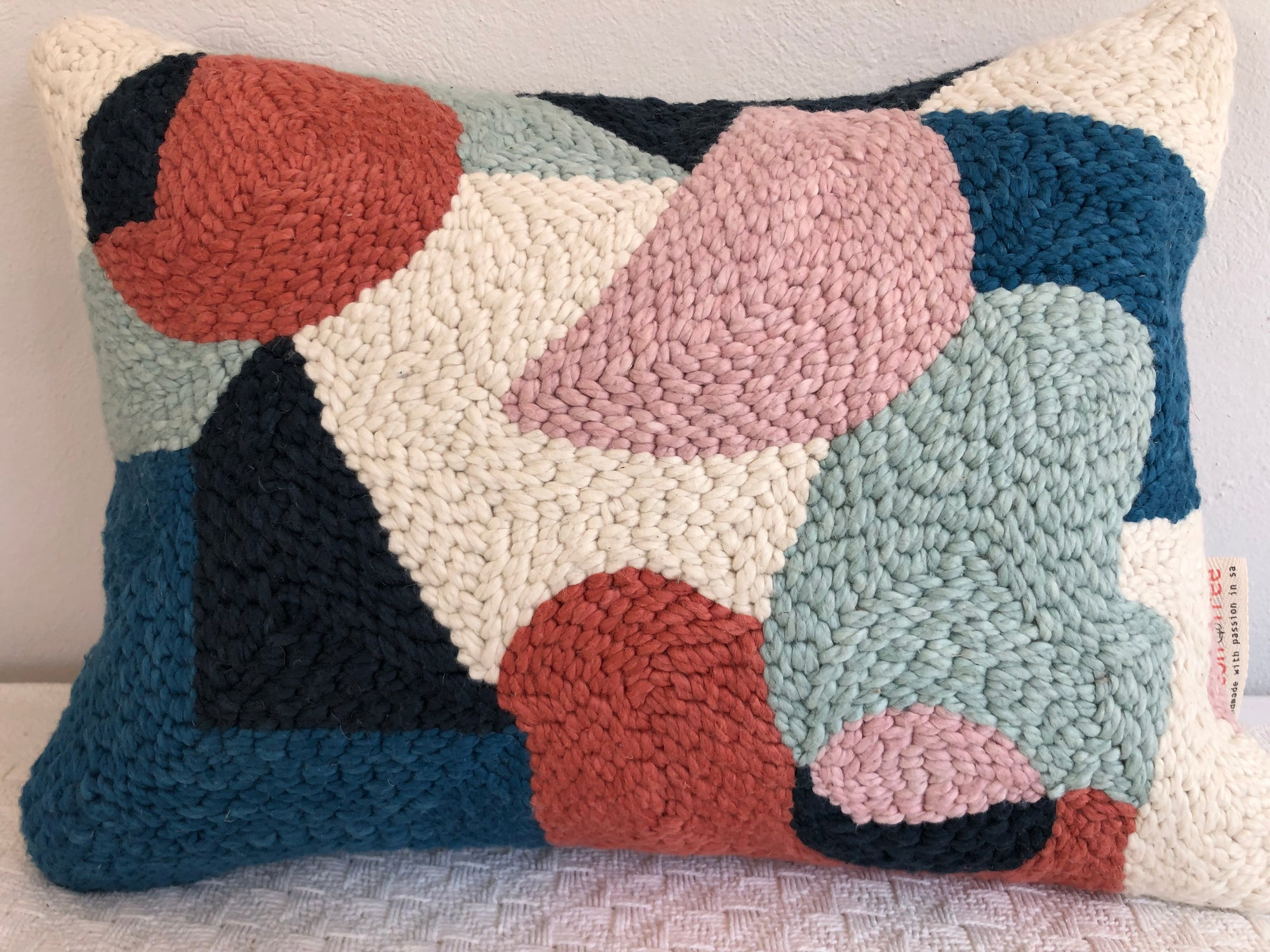 Punch Needle Cushion - Pattern 4