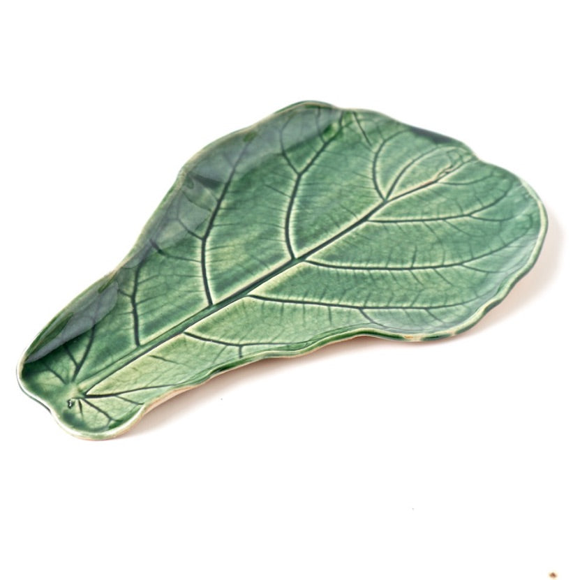 Ceramic Plate – Fiddleleaf Fig