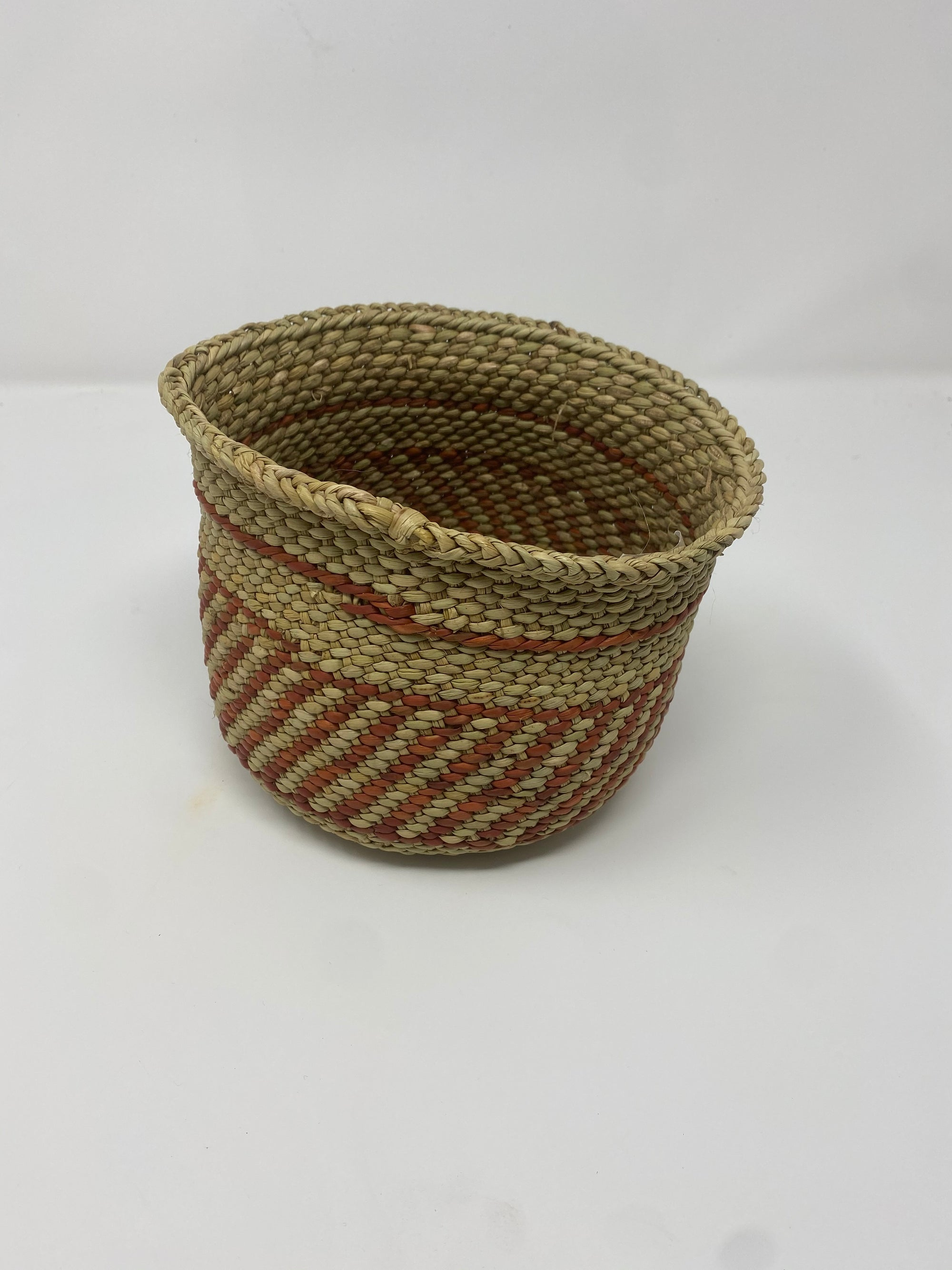 Iringa Basket - Brown Striped - XXS