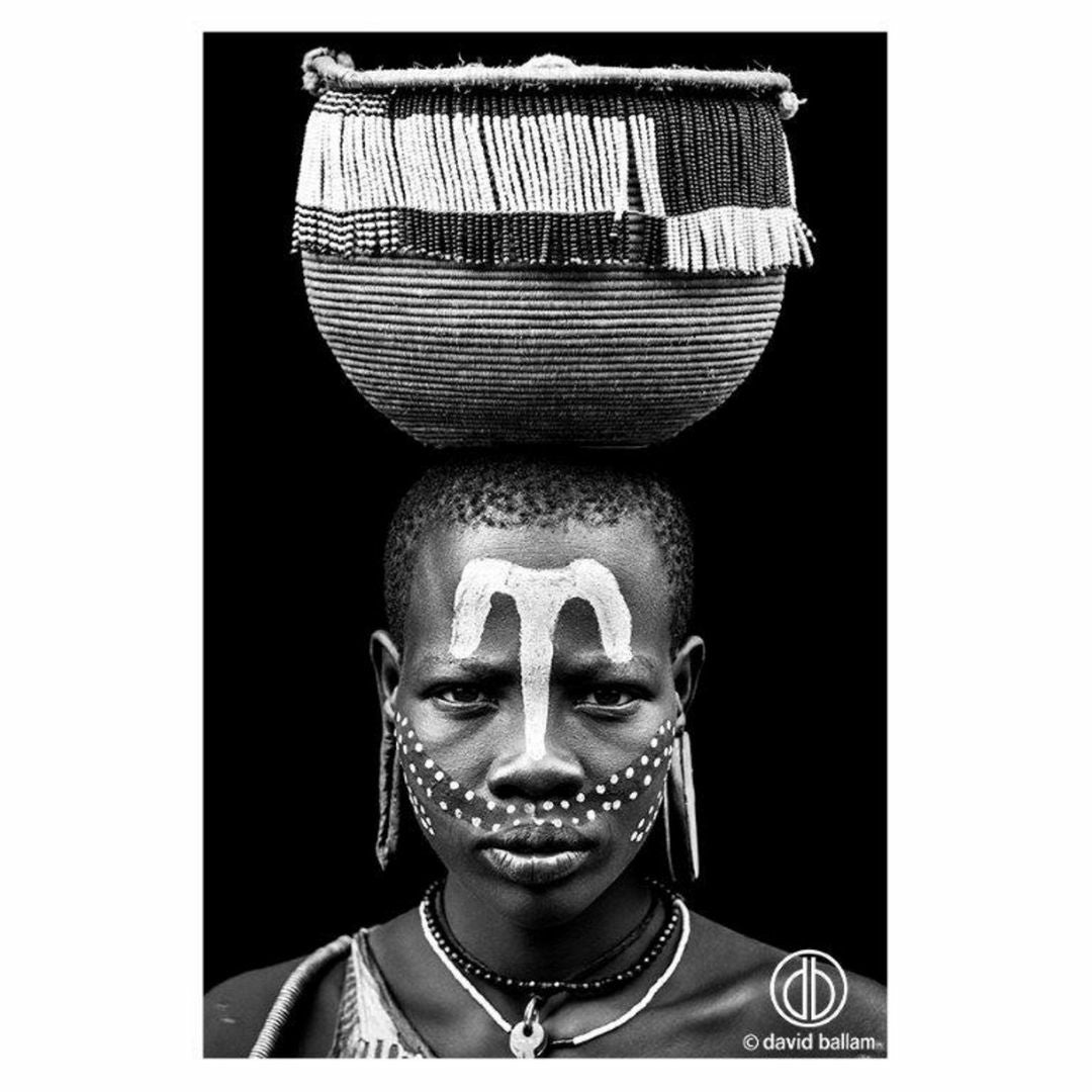 David Ballam - OMO 34 - Mursi Woman II, Omo Valley, Ethiopia