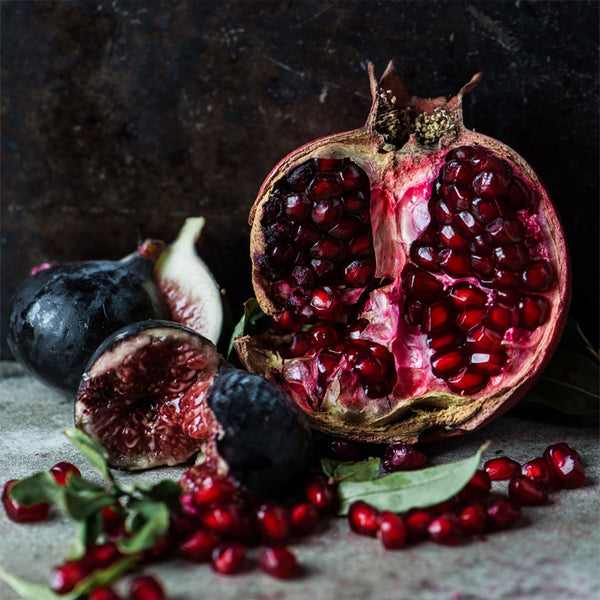 Square Cloth - Pomegranate with Fig