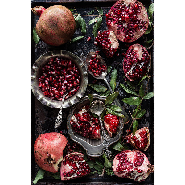 Table Cloth - Baking Tray with Pomegranate