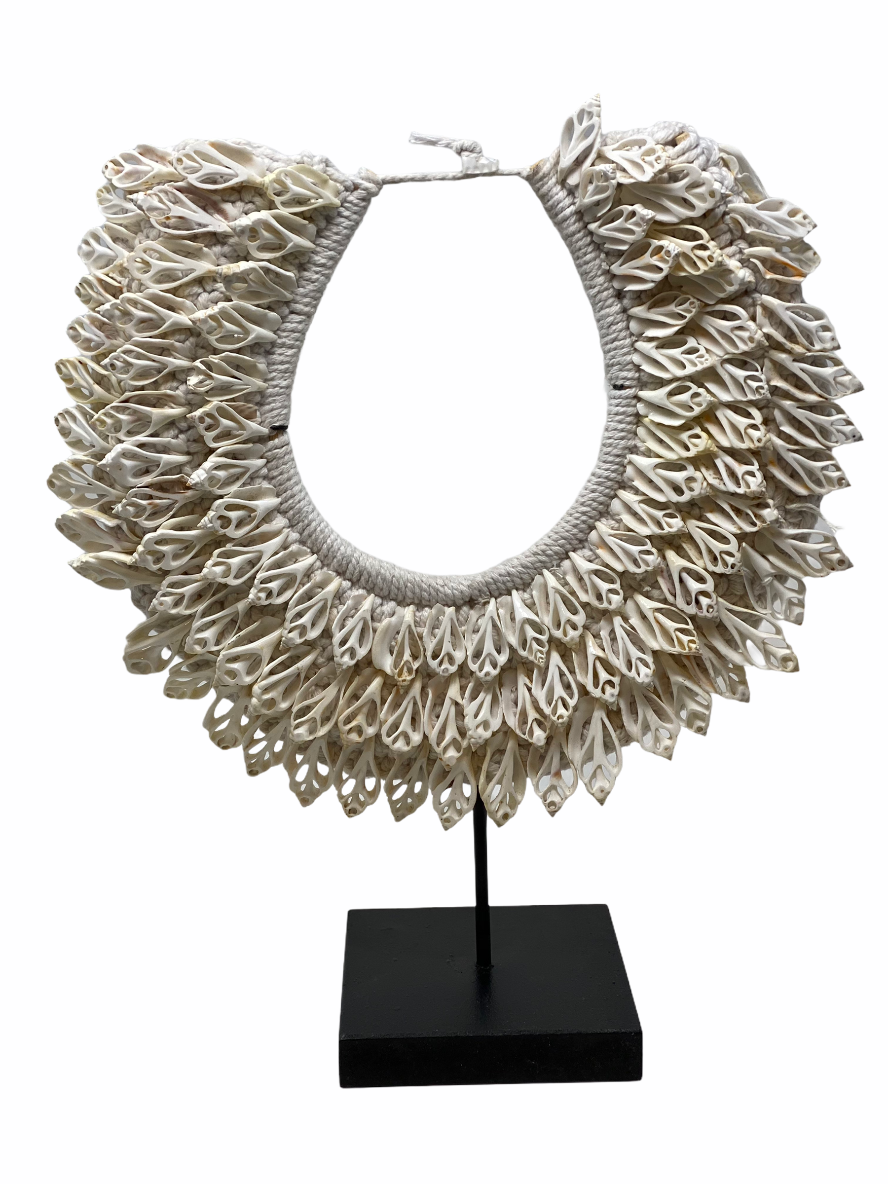 Handmade White Shell Necklace